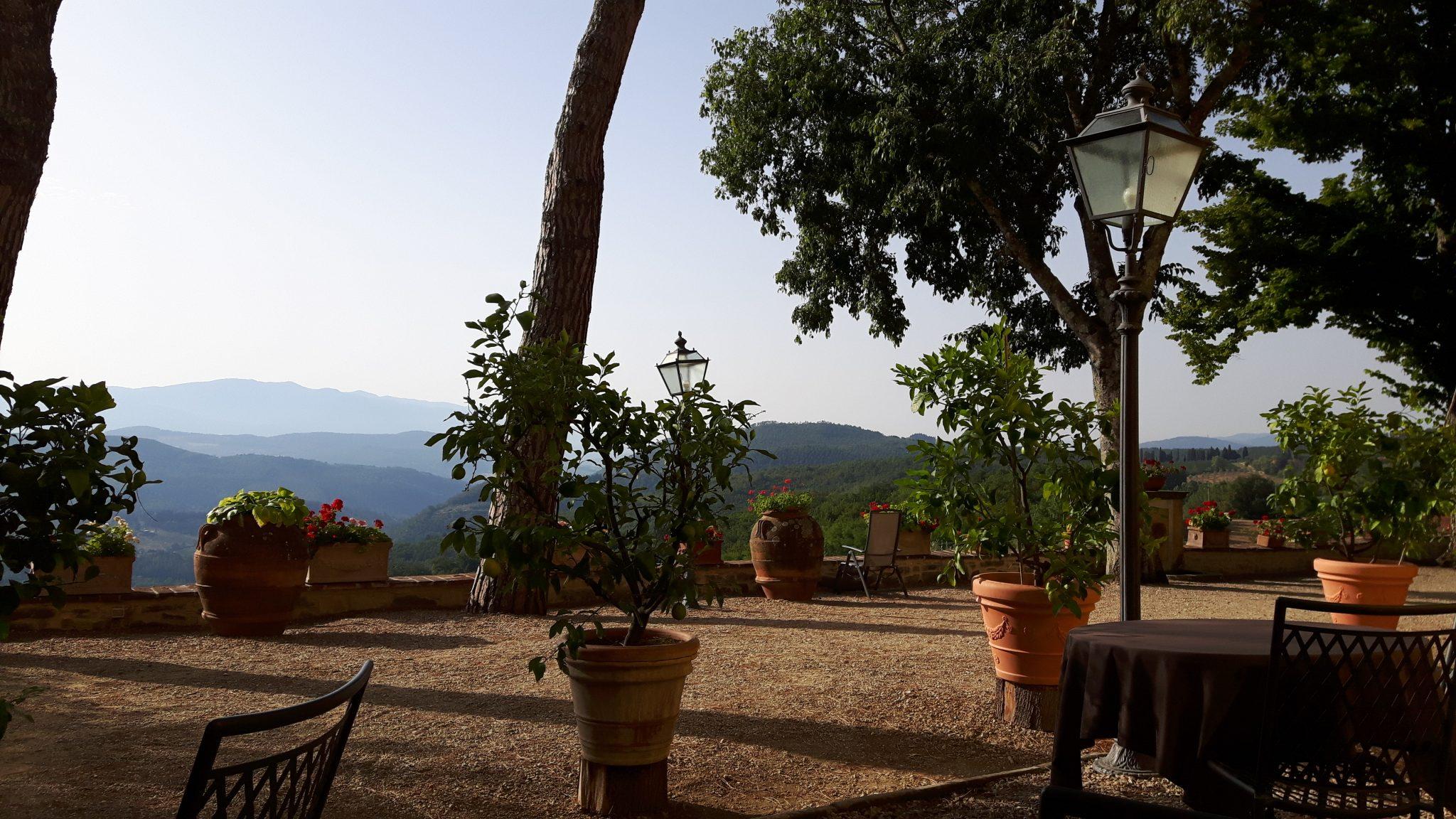 Piatti toscani e relax, sulle colline a Fiesole