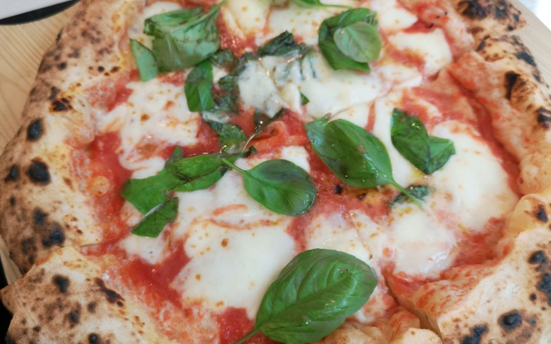 La pizza di Francesco Martucci da I Masanielli